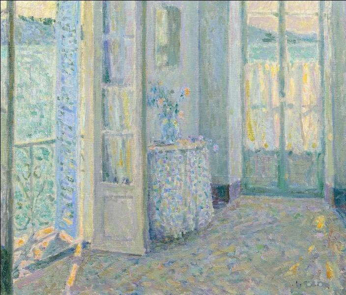 """Qui a peint """"La Chambre bleue"""" ?"""