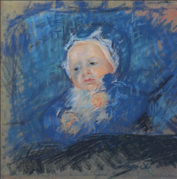 """Qui a représenté """"L'Enfant bleu"""" ?"""