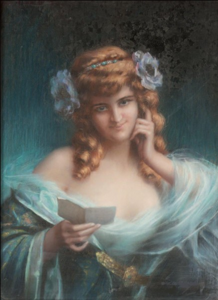 "Qui a peint ""Femme en bleu lisant"" ?"