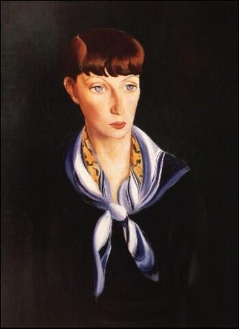 """Qui a représenté """"Madame du Bousquet au foulard bleu"""" ?"""