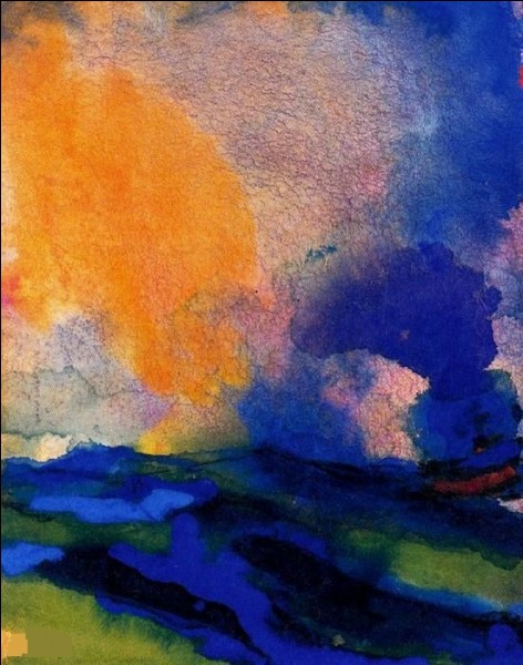"""Qui a peint """"Bleu vert de la mer avec défroisseur"""" ?"""