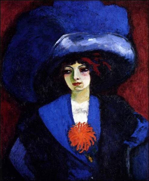 """Qui a peint """"Femme au chapeau bleu"""" ?"""