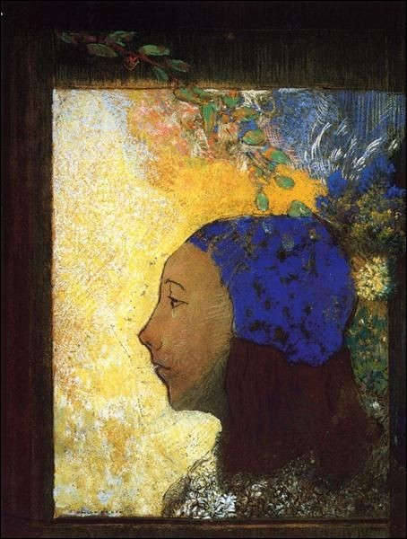 """Qui a représenté cette """"Jeune fille avec un bonnet bleu"""" ?"""