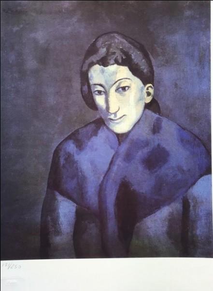 """Qui est le peintre de """"Femme en bleu"""" ?"""