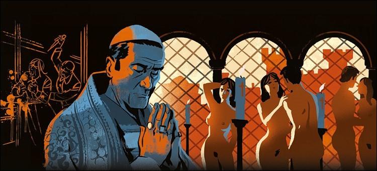 Pape de la luxure et de la corruption (1492 à 1503). Qui est-il ?