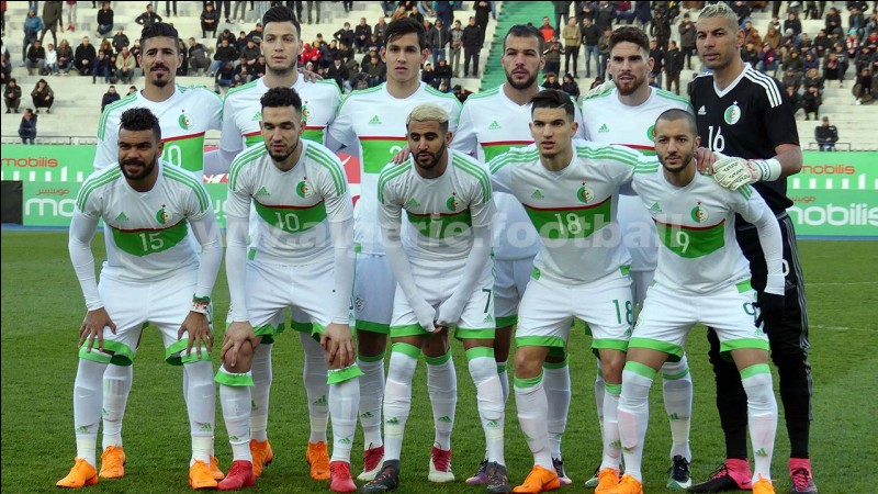 L'Algérie a gagné la CAN d'Afrique 2019.
