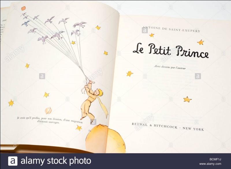 """Le ''Petit Prince'', personnage du conte d'Antoine de Saint-Exupéry, est originaire de """"l'astéroïde B 612""""."""