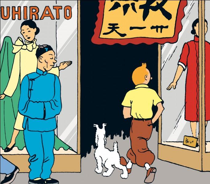 Quel est le nom de cet ange gardien de Tintin (Le Lotus bleu) ?