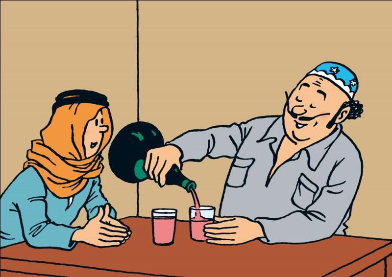 Quel est le nom de ce commerçant portugais (Tintin au pays de l'or noir) ?
