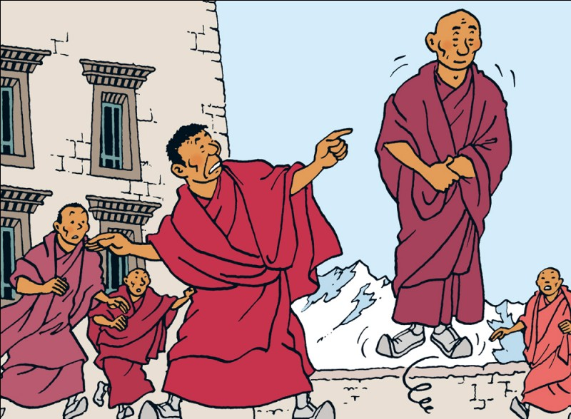 Quel est le nom ce ce moine tibétain (Tintin au Tibet) ?