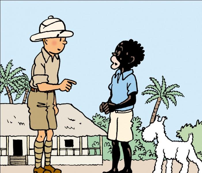 Quel est le nom de ce petit boy au service de Tintin (Tintin au Congo) ?