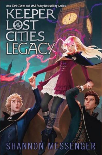 Gardiens des Cités perdues. Quel est le nom de l'héroïne de la série ?