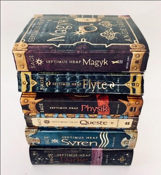 Magyk. Combien de livres de cette série de Angie Sage sont sortis en français ?
