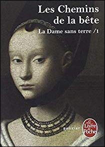 """Quelle romancière qui est la traductrice en français des romans de Patricia Cornwell mettant en scène Kay Scarpetta est l'auteur de la série de romans policiers """"La dame sans terre"""" ?"""