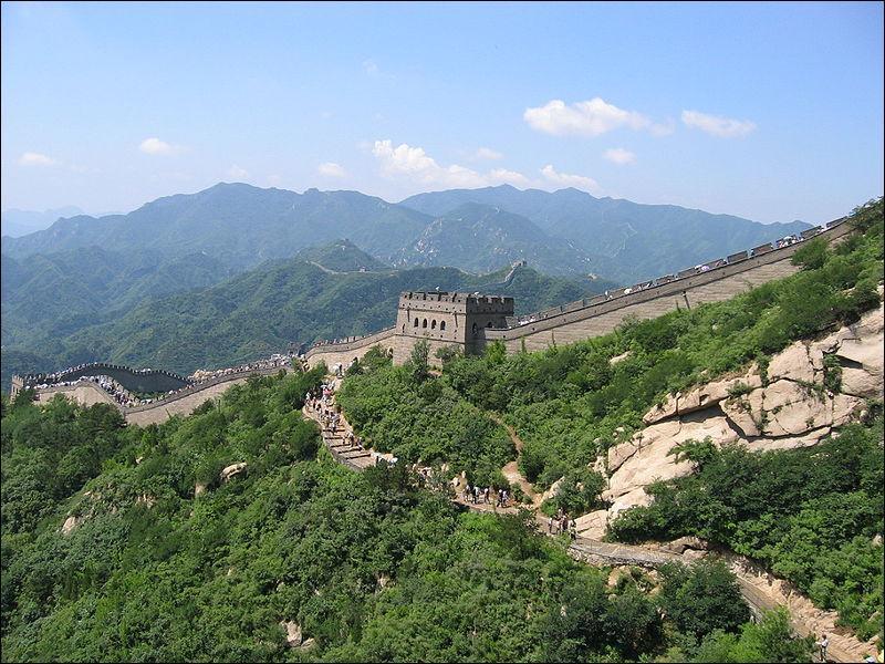 Dans quel pays peut-on voir la Grande Muraille ?