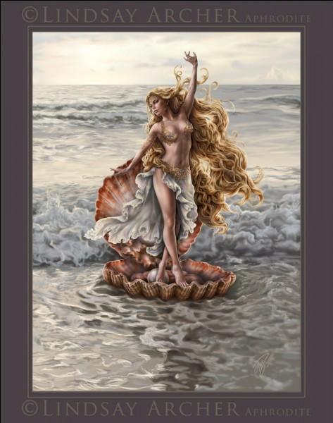 Aphrodite est née...