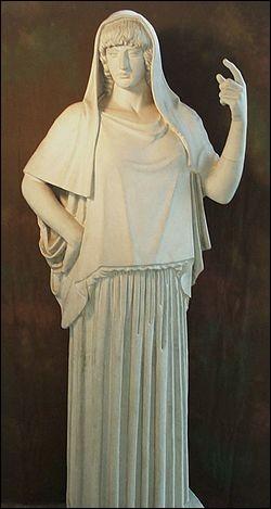 Hestia est la déesse...