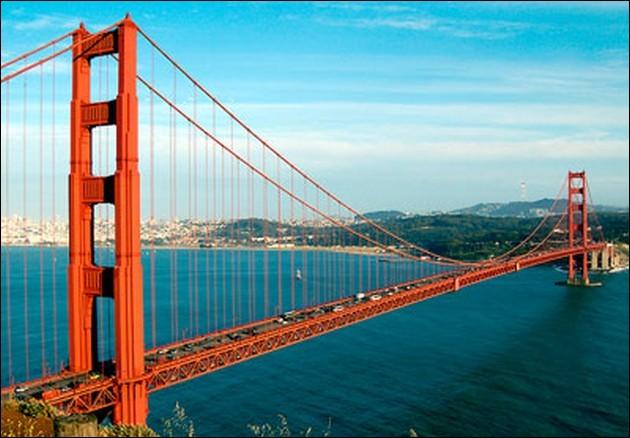 Dans quelle ville, le pont du Golden Gate (1937) est-il sis?