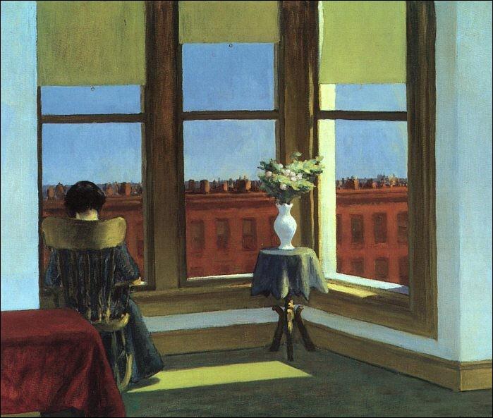"""""""Chambre à New York"""" est l'œuvre de quel peintre américain ?"""