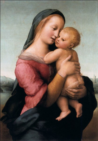 "Quel artiste italien de la Renaissance a peint ""La Madone Tempi"" ?"