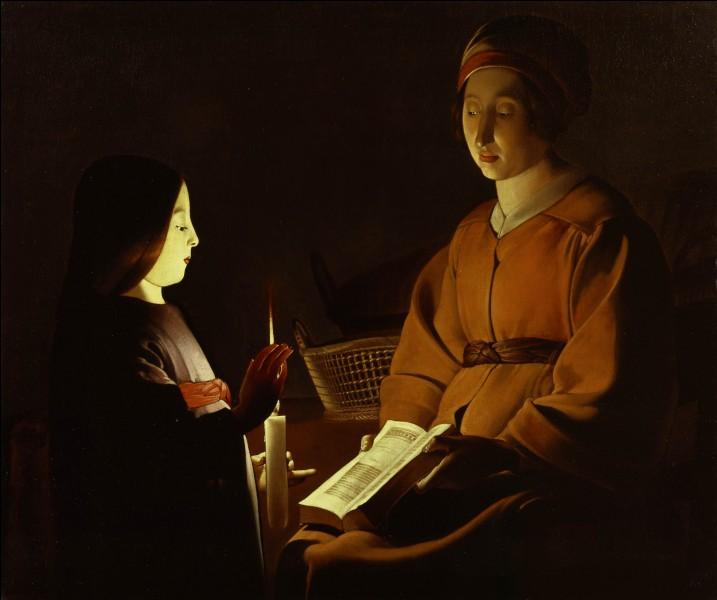 """""""L'Éducation de la Vierge"""" nous provient d'un peintre baroque. Lequel ?"""