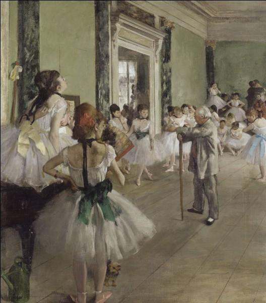 """""""La Classe de danse"""" est l'œuvre de quel peintre français ?"""