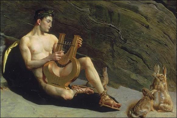 Orphée ira réclamer dans le royaume des morts (dont son chant fléchit les puissances redoutables), sa bien-aimée Eurydice blessée mortellement au talon par un ;
