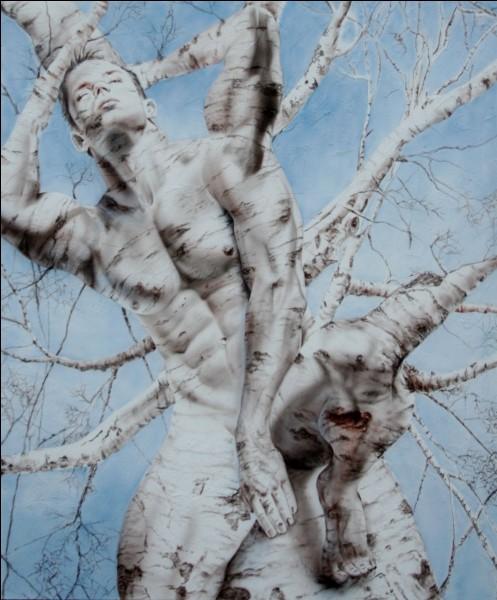 L'écorce de cet arbre à myrrhe se fend pour libérer et donner naissance à ce magnifique Dieu. Qui est-il ?