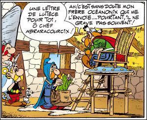 Qui livre le courrier dans le village gaulois d'Astérix ?