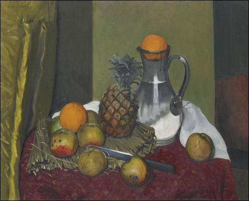 """Qui est l'artiste de la toile """"Pommes et ananas"""" ?"""