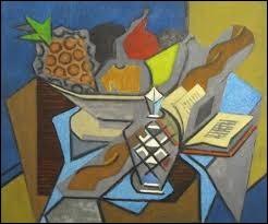 """Qui a peint """"Nature morte à l'ananas"""" ?"""