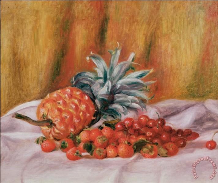 """Qui a peint """"Fraises et ananas"""" ?"""