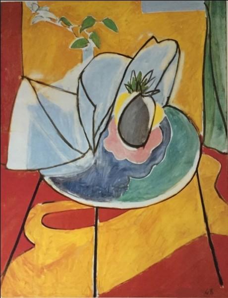 "Qui a peint ""L'Ananas"" ?"