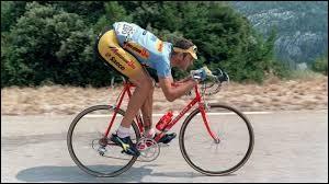 Il est italien ; il a participé 6 fois au Tour de France ; vainqueur d'étape et meilleur combatif du Tour en 1994.Il s'appelle Eros...