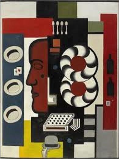 Conservée au musée national d'Art moderne, à Paris, ''Composition à la main et aux chapeaux'' est une huile sur toile réalisée par un cubiste en 1927 et de dimensions de 2,48 m de haut sur 1,85 m de long. Qui est l'auteur de ce tableau ?