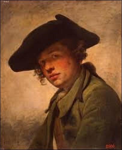 Quel est le nom de ce peintre qui a réalisé, en 1750, cette huile sur toile intitulée ''Le Jeune Homme au chapeau'', tableau que l'on peut admirer au musée de l'Ermitage à Saint-Pétersbourg ?