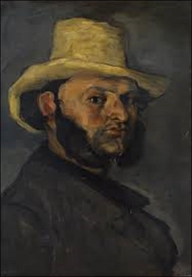 À quel impressionniste doit-on ce tableau peint entre 1870 et 1871 nommée ''L'Homme au chapeau de paille'' ?
