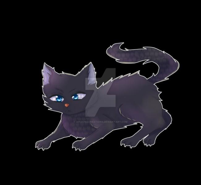 Je suis un chat noir aux yeux bleus. Je suis tombé amoureux de plusieurs femelles dont une est guérisseuse. J'ai même eu trois chatons avec elle.Je suis...