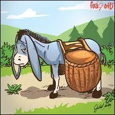 Où rencontre-t-on l'âne Bourriquet ?
