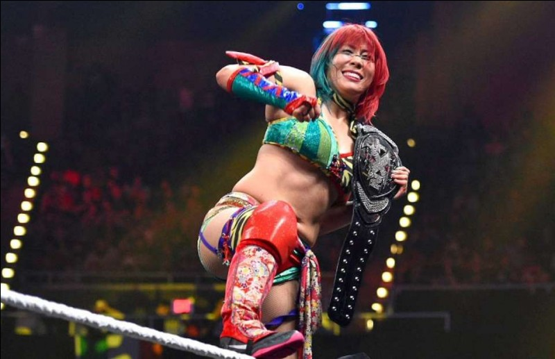 Quel est le nombre de jours de règne d'Asuka en tant que championne NXT ?