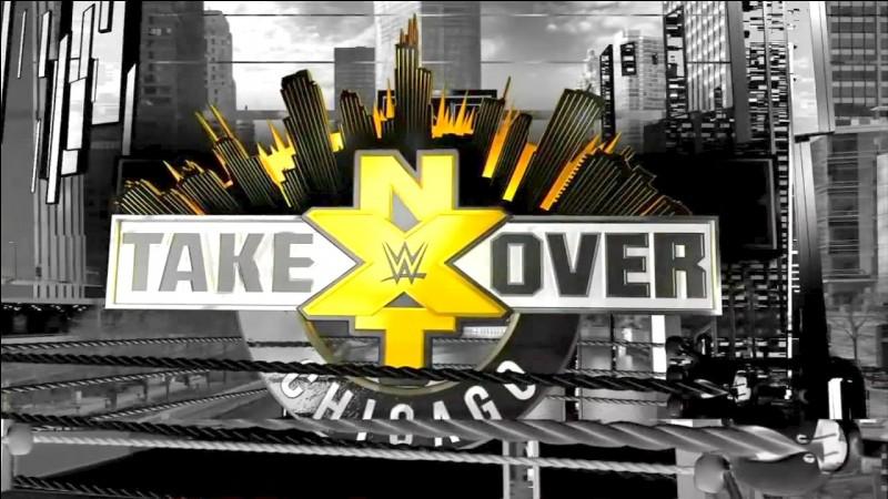 """Quelle est la séquence de fin lors de """"NXT Takeover Chicago"""" diffusé le 20 mai 2017 ?"""