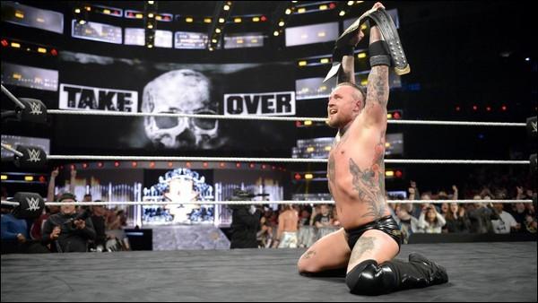 Qui a battu Aleister Black pour le titre NXT le 25 juillet 2018 ?