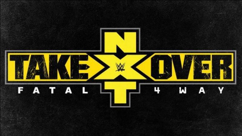 """Lors du show """"NXT Takeover : Fatal 4 Way"""", quels ont été les 4 participants du match Fatal 4 Way pour le titre NXT ?"""