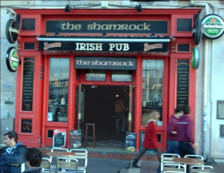 Ce Pub irlandais, The Shamrock, a une grande terrasse sur le Vieux Port. On a des happy hours tous les jours, pour tous les amis et on offre aussi la retransmission d'un match de sport et parfois il y a des concerts gratuits live. On a une solide restauration pour appuyer le tout.Où trouve-t-on The Shamrock ? ''un véritable lieu de rencontre, d'échange culturel, de détente et de convivialité'' ?