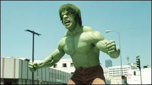 On finit avec une série des années 70-80 !Qui incarnait l'Incroyable Hulk à l'écran ?