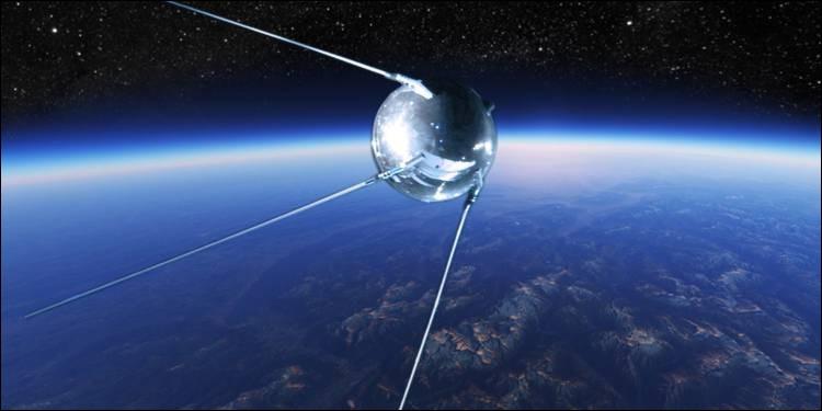À quelle époque le premier satellite artificiel de la Terre, Spoutnik 1, a-t-il été lancé ?