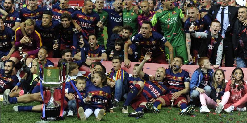 Combien de Coupe du roi le FC Barcelone ont-ils remportées ?