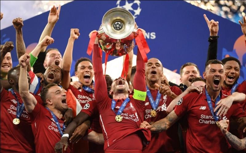 Combien de Ligues des champions, Liverpool a-t-il gagnées ?