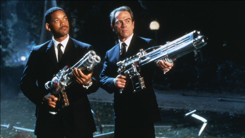 Comment s'appellent les 2 agents de ''Men In Black'' ?