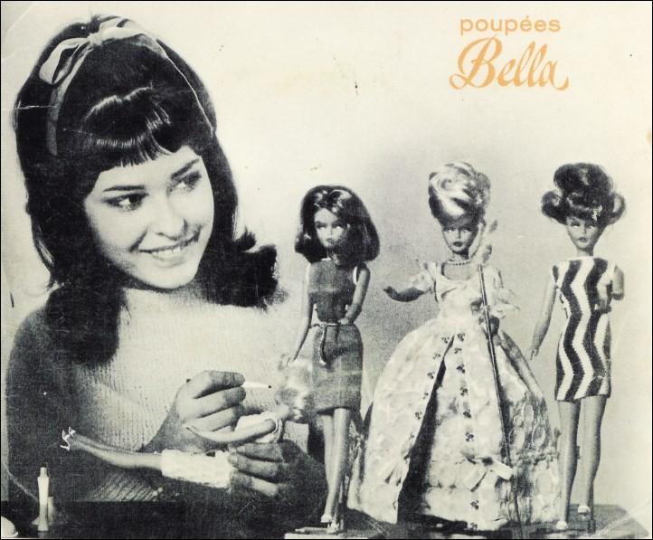 """Qui est la star qui a chanté """"Les Poupées Bella"""" de ce disque ?"""